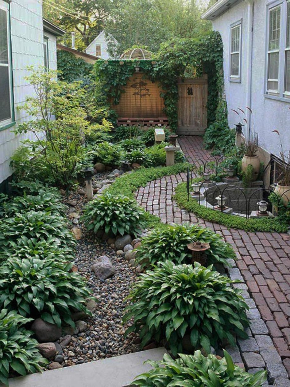 the secret of successful small garden design desain